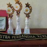 Tim SMANSA Raih 3 Piala dalam Kegiatan Persandha Unsri